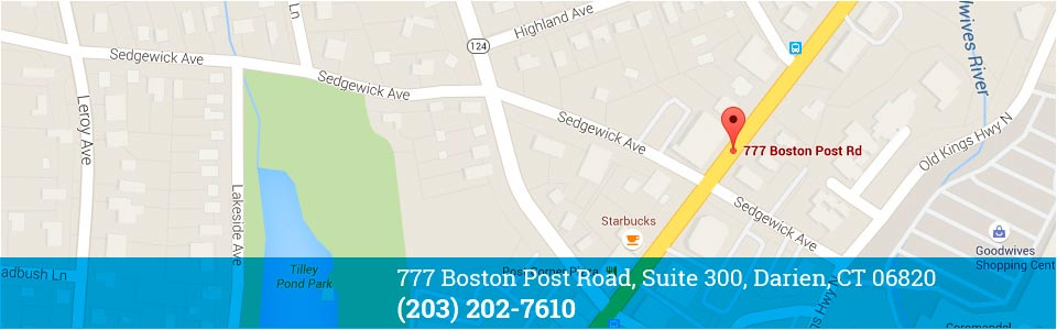 Darien NY - Blue Wave Orthodontics Map