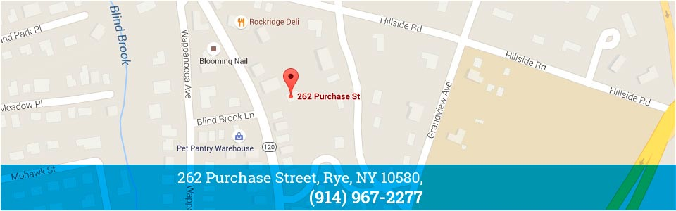 Rye NY - Blue Wave Orthodontics Map